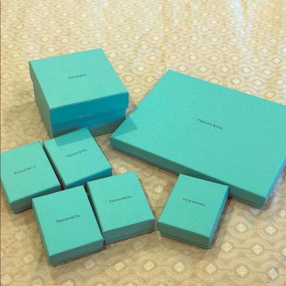 Tiffany & Co. Other - Tiffany and co boxes in different size